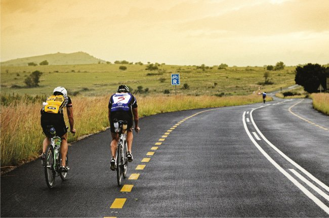 Safe cycling: The Cradle of Humankind