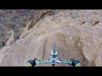 Video thumbnail for youtube video Head-Cam Footage of Backflip Over Canyon
