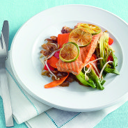 Baked asian style salmon copy