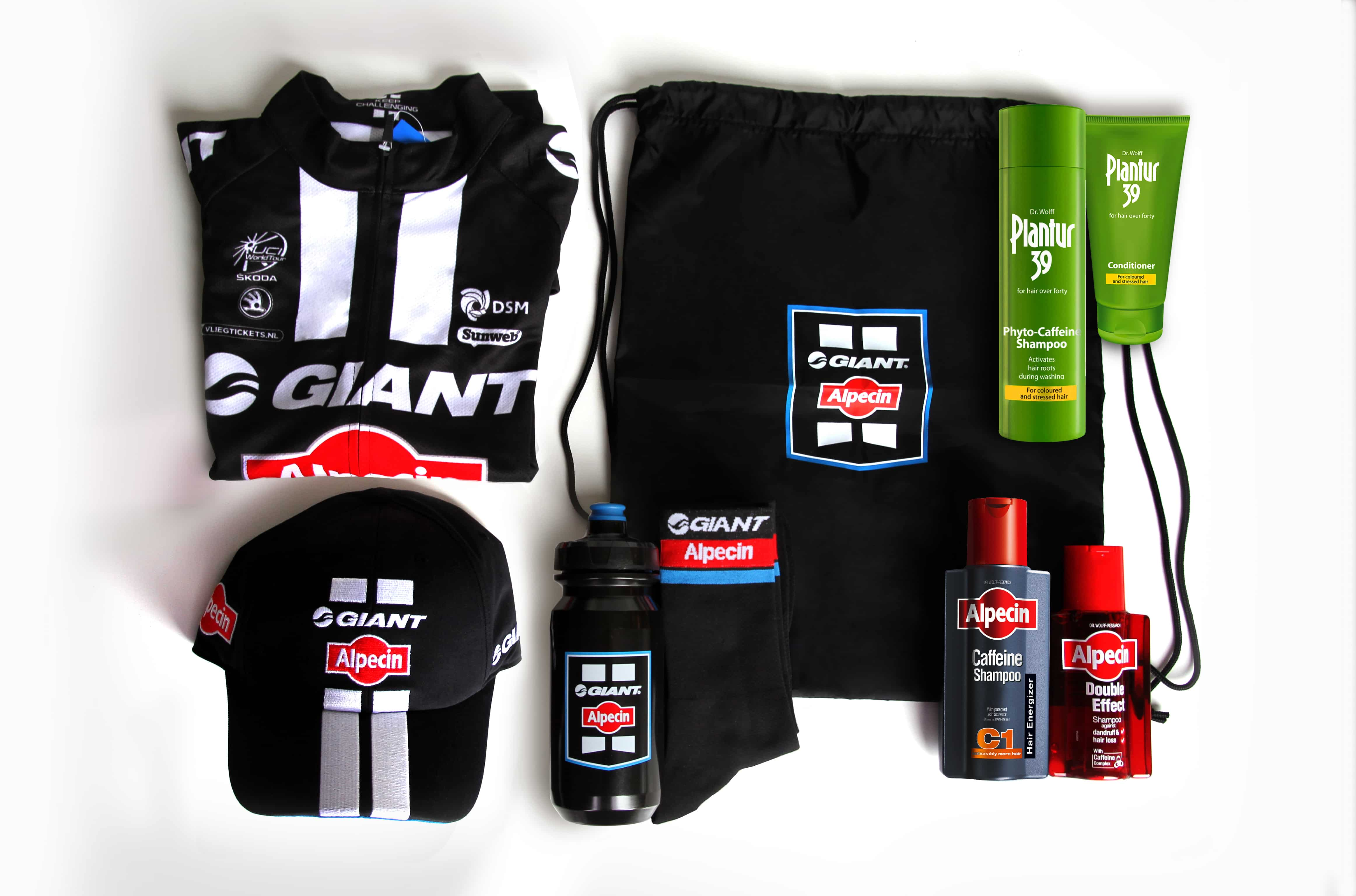 Win With Alpecin Bicycling Week 3 C1 Caffeine Shampoo Hair Loss Hamper Image Final