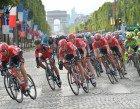 Tour de France 2015 - 26/07/2015 - 21eme Etape - Sevres / Paris - Champs Elysees - 109,5km - Les Lotto-Soudal comtrole de peloton © ASO/B.Bade-G.Demouveaux-P.Perreve-X.Bourgois