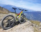 Enjoying the view of Mont Blanc with the Specialized Stumpjumper FSR 6fattie