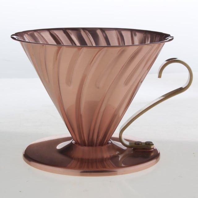 Hario V60 Pour-Over Coffee Dripper Copper R1 199