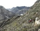 The view nearing the top of Theo's 'tiger line' out of Stettynskloof.