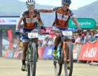 Sabine Spitz and Robyn de Groot - #ConquerAsOne winners of Stage 1.