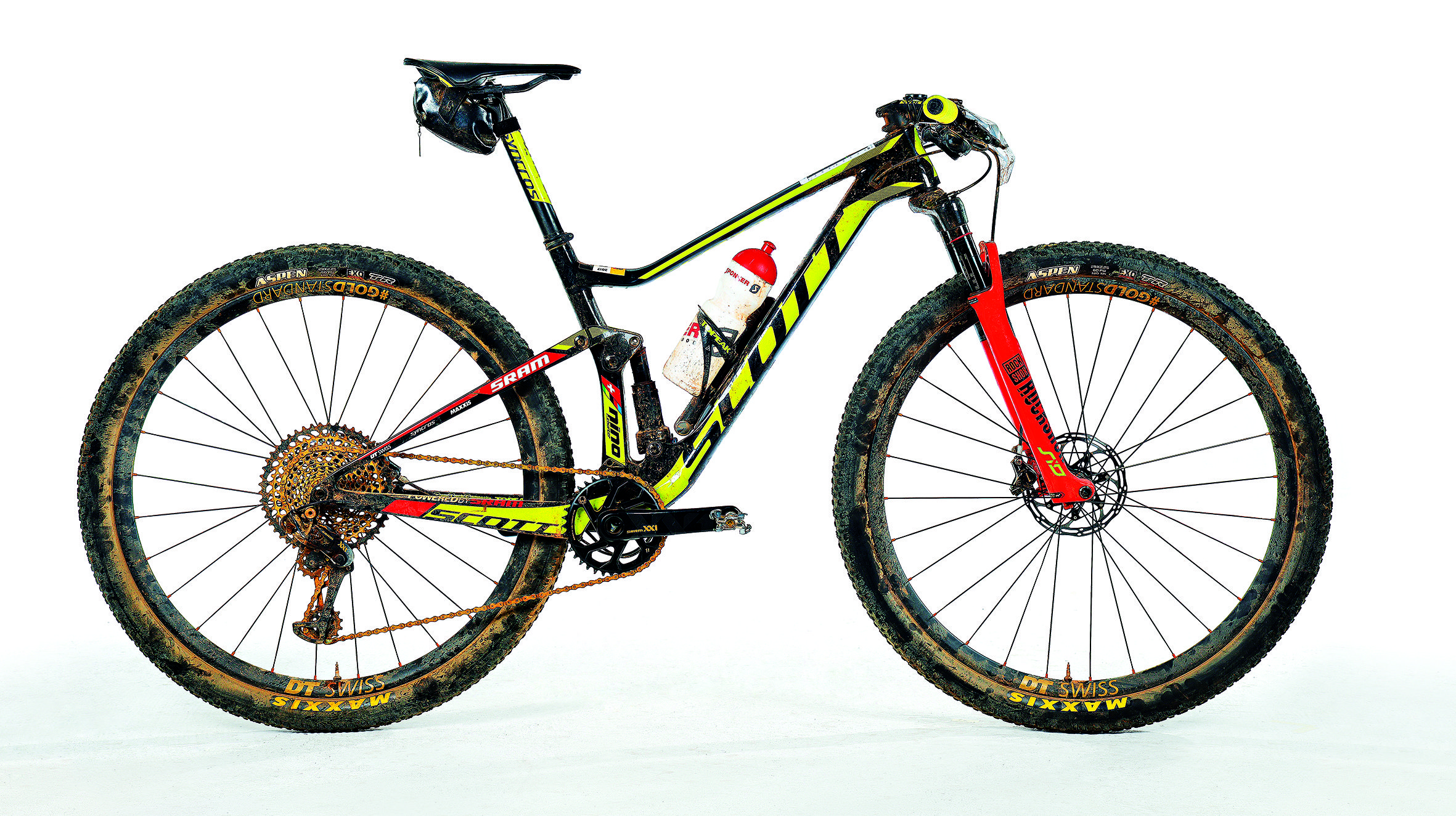 Nino Schurter's Cape Epic-Winning Scott Spark 900 RC ...