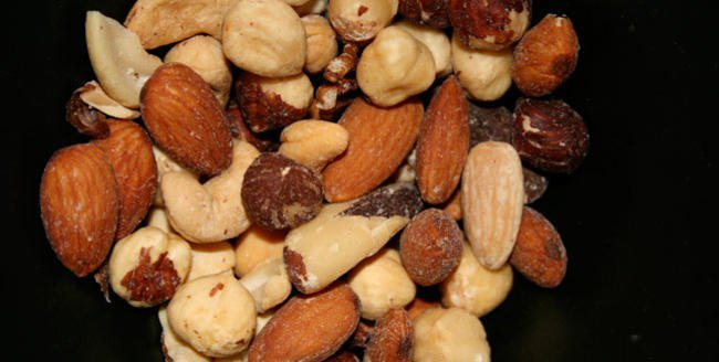 Portable and non-perishable, nuts are a perfect snack for cyclists.