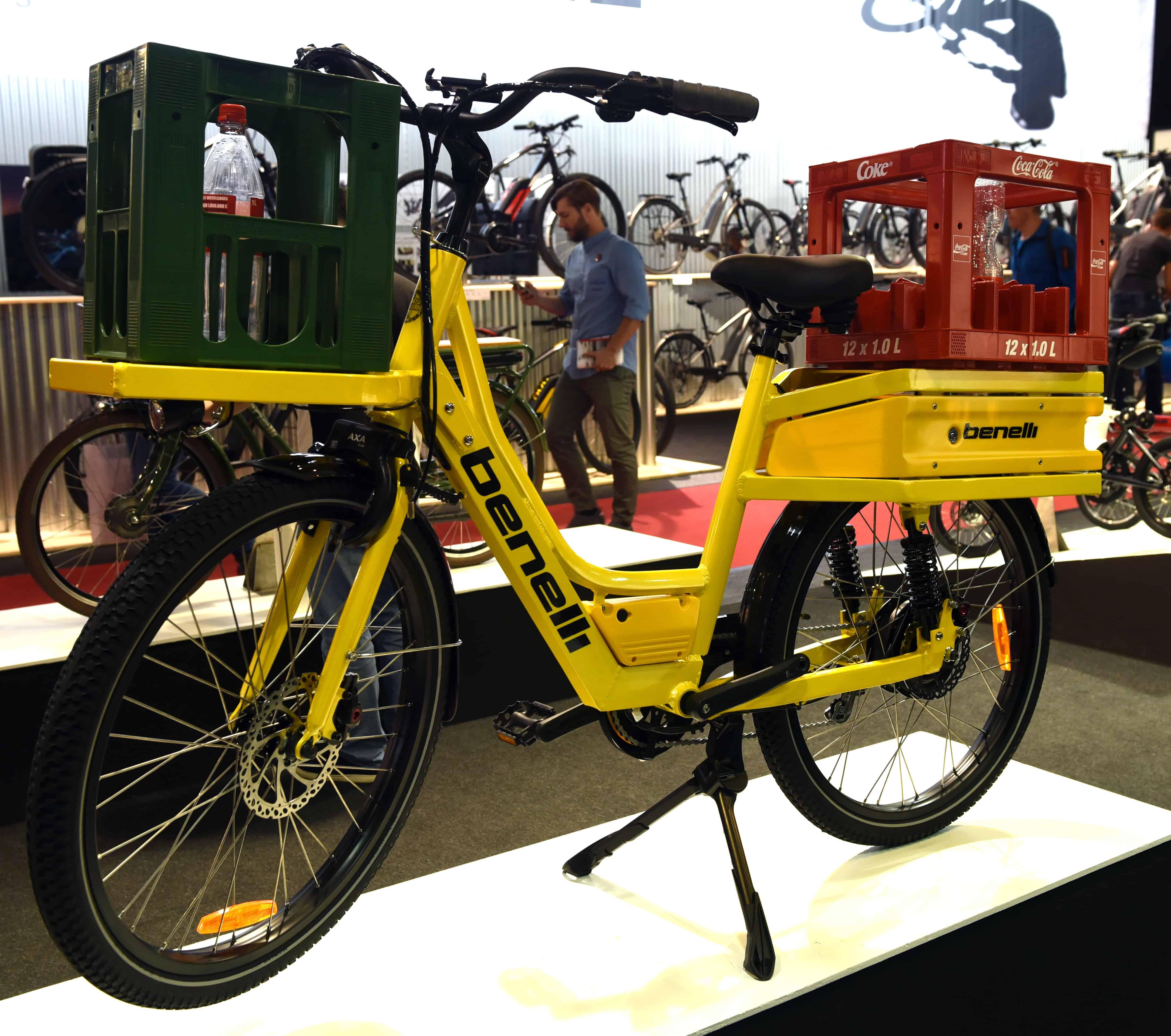 B2: benelli cargo bike