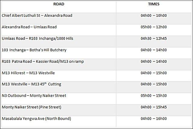 amashova-road-closures