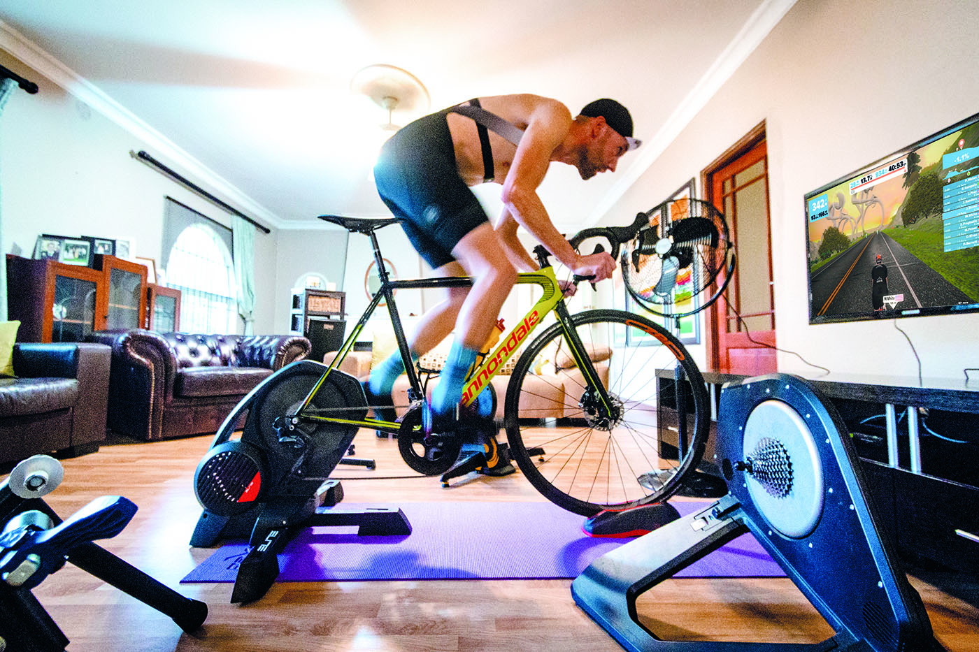 How Zwift Changed This Rider's Life - Bicycling