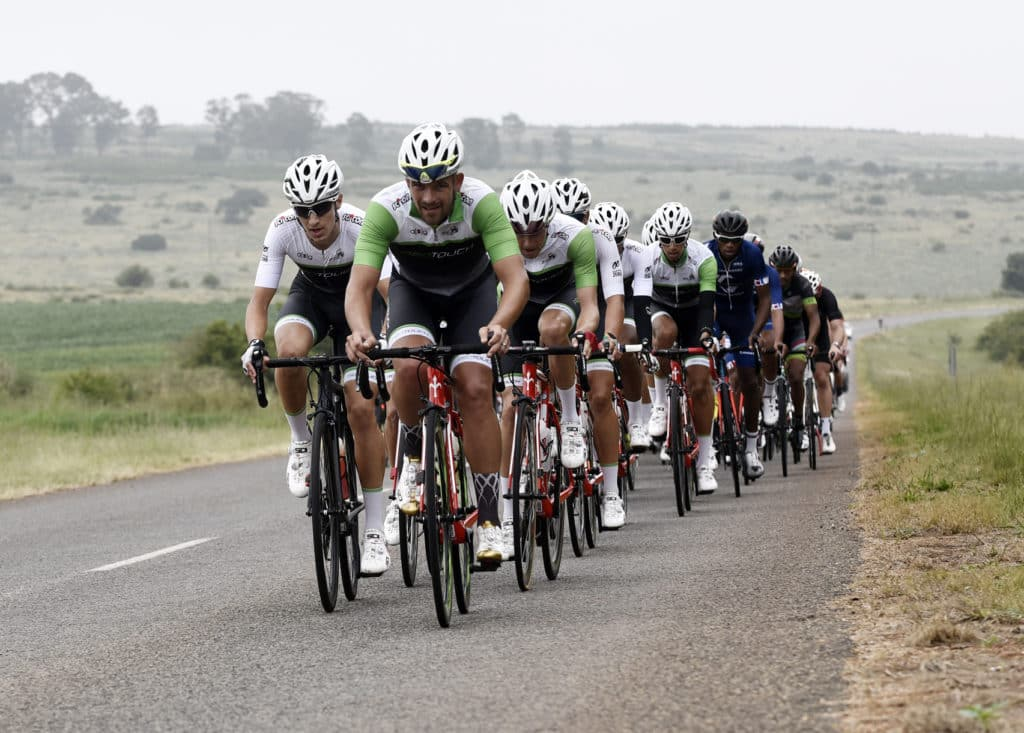 Berge an Dale Road Cycling Race