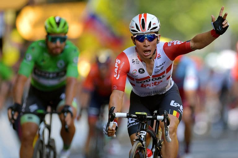 After Four Podium Finishes, Caleb Ewan Finally Wins A Tour de France Stage - Bicycling