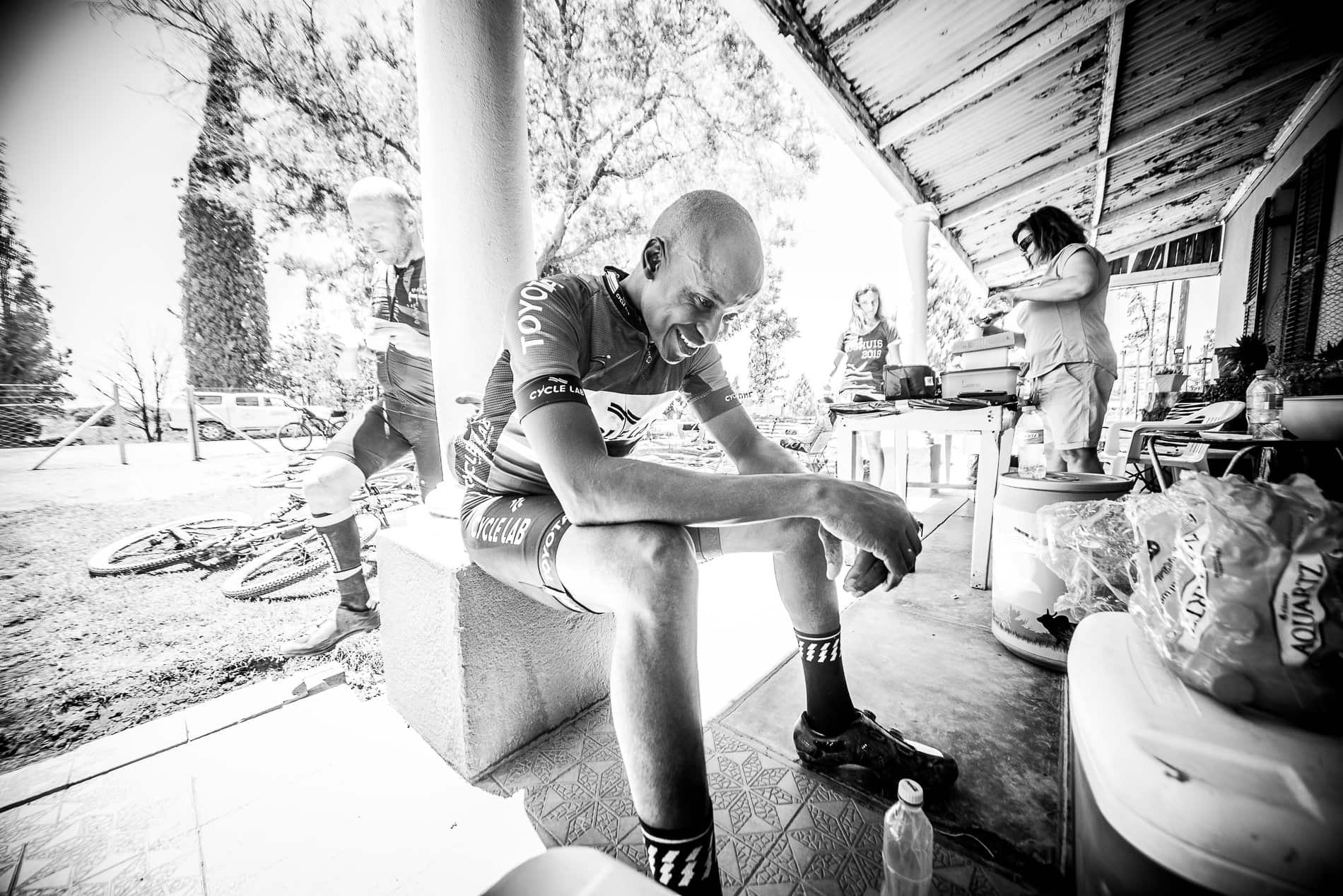 Munga-broken is an entire new level of stuffed; heat, sleep-deprivation and the constant why, why, why drain riders, sometimes beyond repair. Erik Vermeulen / The Munga 2019