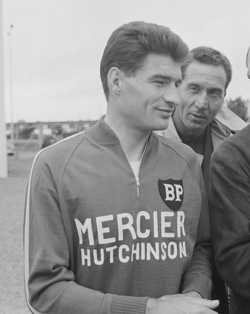 Raymond Poulidor at the 1966 Tour de France.