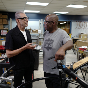 Jeff Goldblum rediscovers cycling