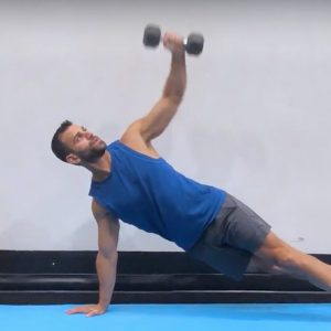 chest abs core strength